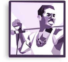 Freddie Mercury - Icon Canvas Print