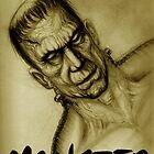 frankenstein monster by dgstudio