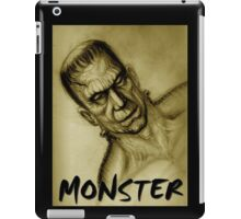 frankenstein monster iPad Case/Skin
