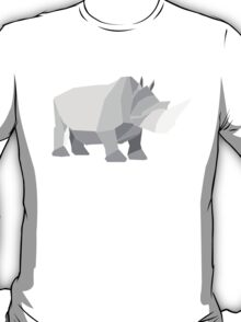 origami made rhino T-Shirt