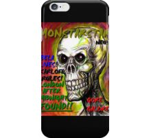 big monsterstar news iPhone Case/Skin