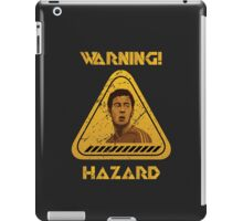 Chelsea Warning Hazard iPad Case/Skin