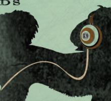 SHIH TZU RECORD LABEL FUNK AND SOUL ART PRINT Sticker