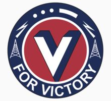 V For Victory Pin (WWII) Kids Clothes