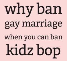 ban kidz bop Kids Clothes