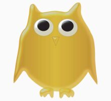 Gold Owl Design by biglnet