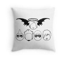 A7X Smiles Throw Pillow
