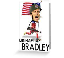 Michael Bradley USMNT Greeting Card