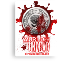 World of the Undead - Presidential Seal Canvas Print