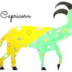 Capricorn Sign of the Zodiac by JoAnnFineArt