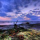 Summer Solstice Sunset by Nigel Bangert
