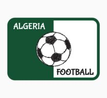 Algerian Flag | Football by piedaydesigns