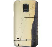 Tracks along the Danube Samsung Galaxy Case/Skin