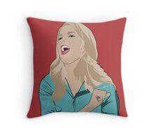 Grace Helbig Portrait Throw Pillow