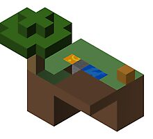 Skyblocks Photographic Print