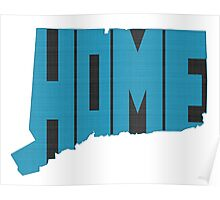 Connecticut HOME state design Poster