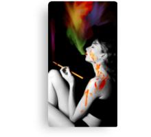 Art is my Drug Canvas Print