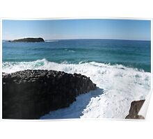 Giants Causway! Fingal Head, NSW North Coast & Hinterland. Poster
