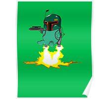 Bulba Fett (Star Wars and Pokemon Parody) Poster