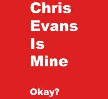 Chris Evans is Mine by Jillsadetective