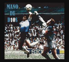 Maradona MANO DE D10S by oldschool
