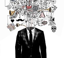 deconstructed mind by Loui  Jover