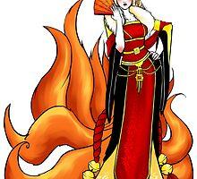 Mistress Kitsune by QuixoticWhimsy