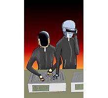 Daft Punk at work Photographic Print