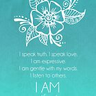 Throat Chakra Affirmation by CarlyMarie