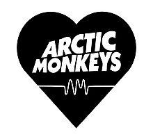 arctic monkeys heart Photographic Print