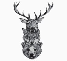 Animal Heads T-Shirt