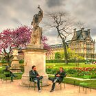 Chillin' at the Tuileries by Michael Matthews