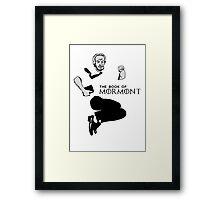 Book of Mormont Framed Print