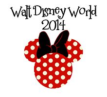 Minnie Mouse polka dots Disney World Vacation by sweetsisters