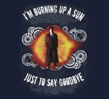 Doctor Who Burning a Sun by Bloodysender
