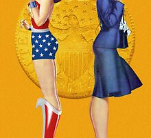 Wonder Woman Pin-Up 02 by TheWrightMan