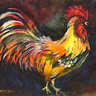 Rooster by Liz Thoresen