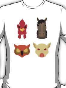 The Four Masks T-Shirt
