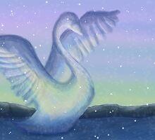 Ice Swan by PolarPawprints