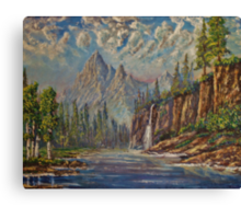 Rocky Mountain Haze Canvas Print