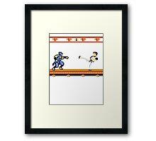 Ninjutsu vs. Kung Fu Framed Print