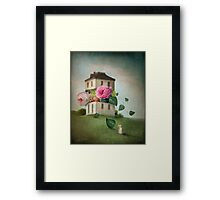 House of Flowers Framed Print