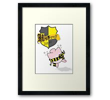 Hufflepuff Song Framed Print