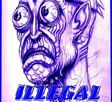 illegal alien by dgstudio
