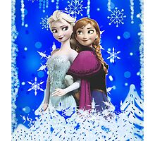 Anna and Elsa (Frozen) by KisukeMischa