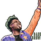 Danny Brown Illustration - Original Print - BenmcArts by Ben McCarthy