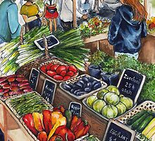 Fresh Veggies by Sherry Cummings