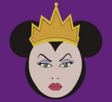 Evil Queen with Minnie Mickey Mouse ears by sweetsisters