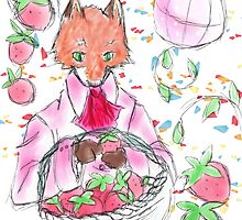 Red Pop Fox Illustration by inkysweets