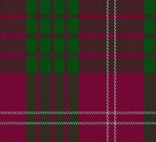 00030 Crawford Clan Tartan Fabric Print Iphone Case by Detnecs2013